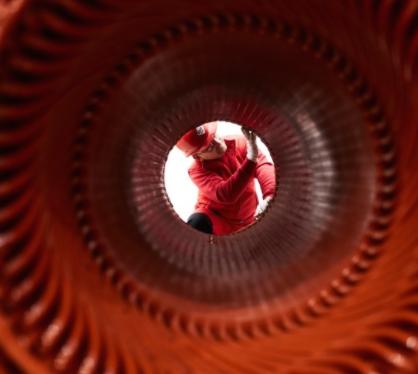 detail elektromotora